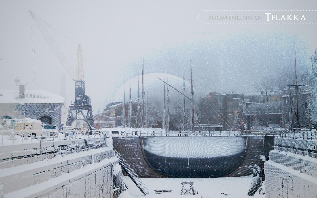 Suomenlinnan talvi - sähköinen esite