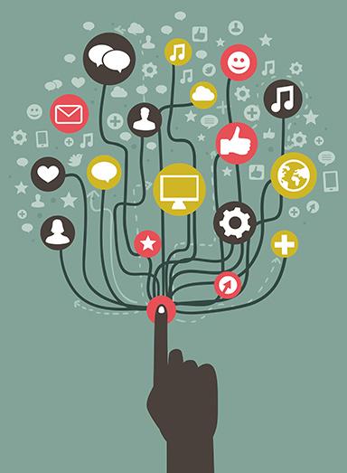 Kotisivut - sosiaalinen & mobiili sivusto