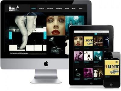 Äänitaivas - responsiivinen verkkosivusto kuvake