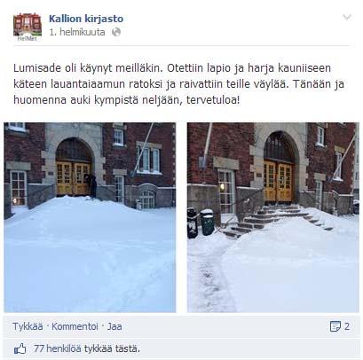 Kallion kirjasto - Facebook