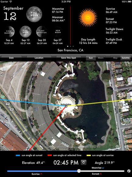 Lighttrac iOS app