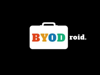 BYODroid - verkkosivusto & visuaalinen ilme