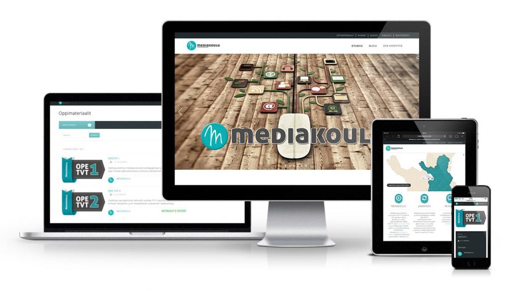 Mediakoulu - some-oppimisympäristö, BYOD