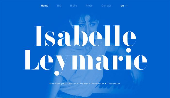 Verkkosuunnittelu trendit - typografia