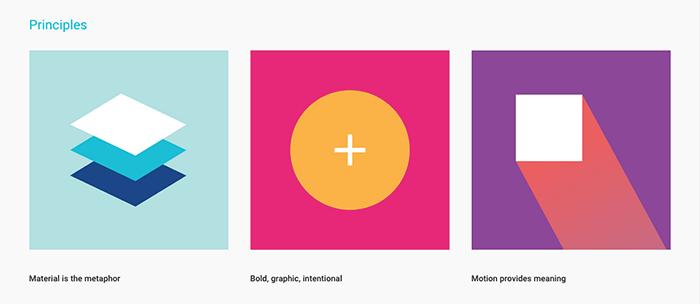 Verkkosuunnittelun trendit - Material Design