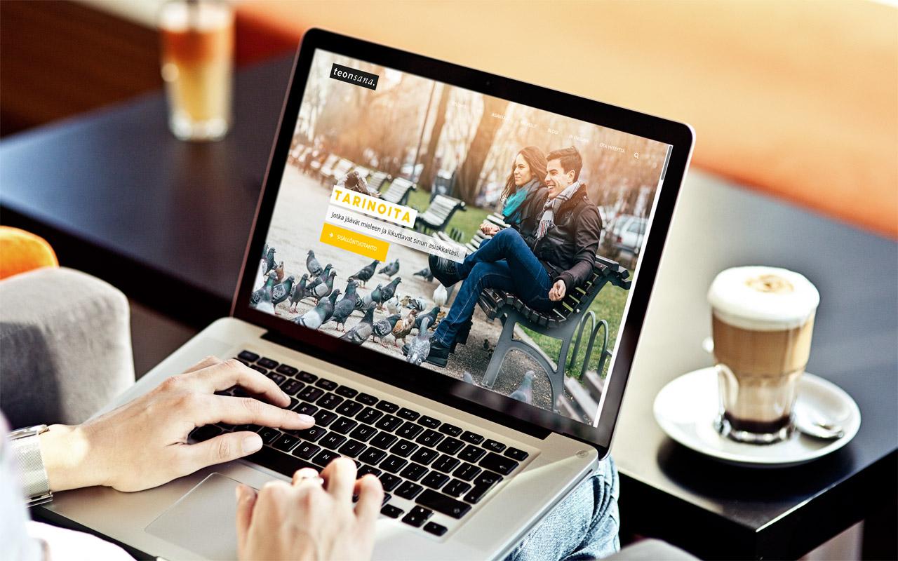 Teonsana - verkkosivut