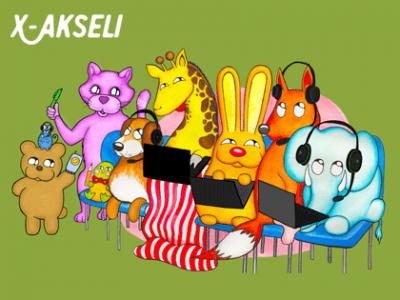 X-Akseli - responsiivinen WordPress -sivusto