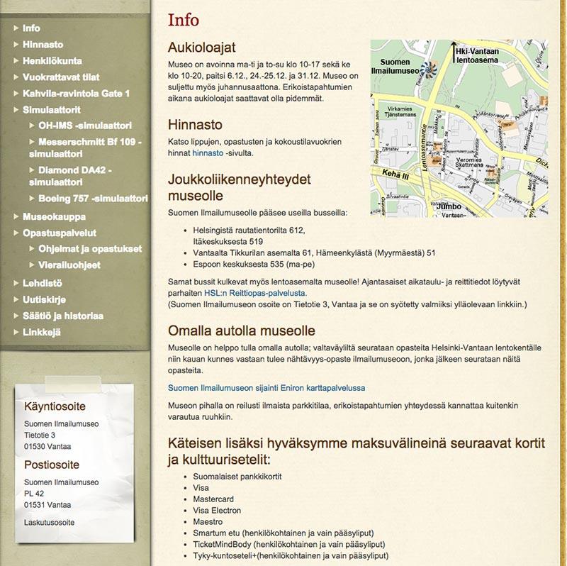 verkkosivujen-uudistaminen-navigointi-ennen