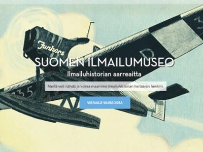 Suomen ilmailumuseo - verkkosivujen uudistus