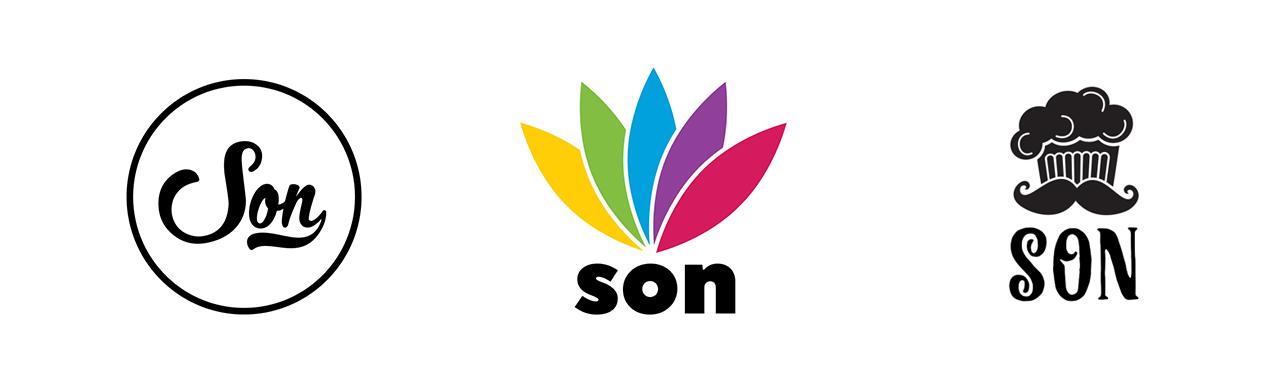 Logokonseptit - typografia