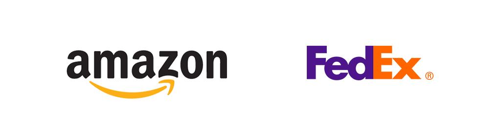 Logon tarina: Amazon & Fedex